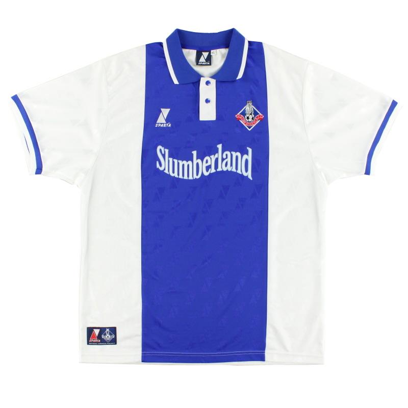 2000-01 Oldham Sparta Home Shirt *Mint* XL