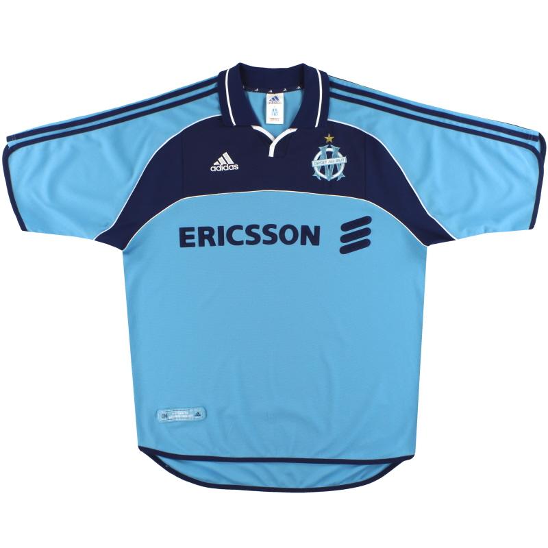 2000-01 Olympique Marseille adidas Third Shirt L