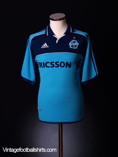 2000-01 Olympique Marseille Third Shirt M