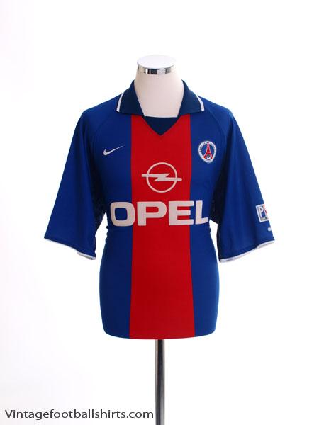 2000-01 Paris Saint-Germain Home Shirt L