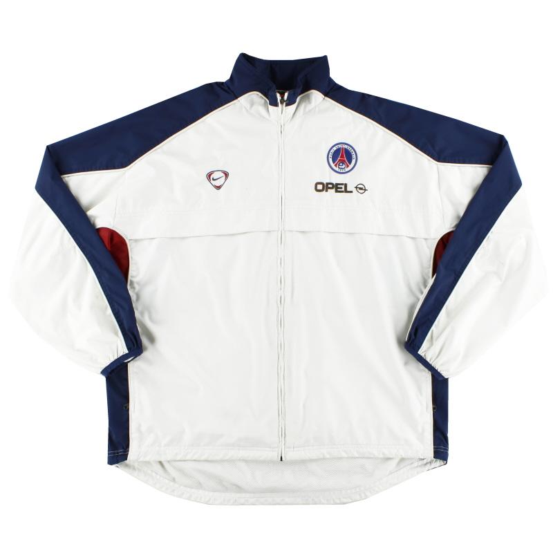 2000-01 Paris Saint-Germain Nike Track Jacket XL