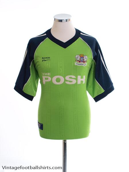 2000-01 Peterborough Away Shirt M