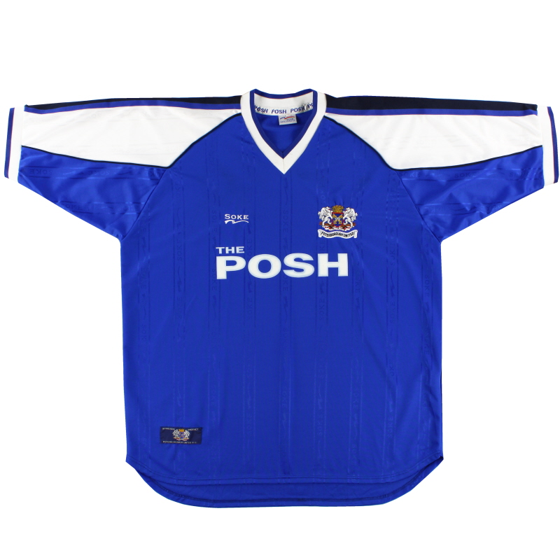 2000-01 Peterborough Home Shirt XL