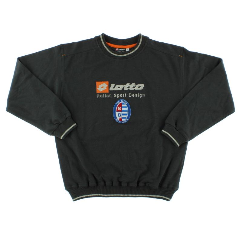 2000-01 Pro Patria Lotto Sweatshirt XXXL.Boys
