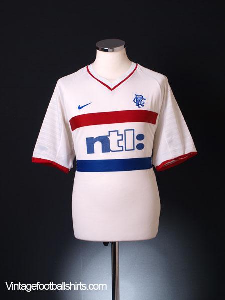 2000-01 Rangers Away Shirt L