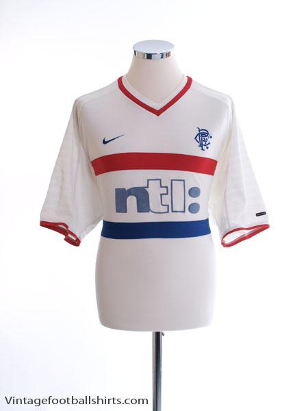 2000-01 Rangers Away Shirt XL