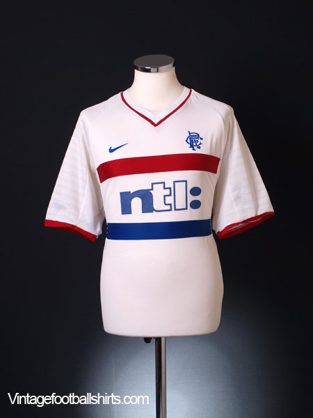 2000-01 Rangers Away Shirt XL