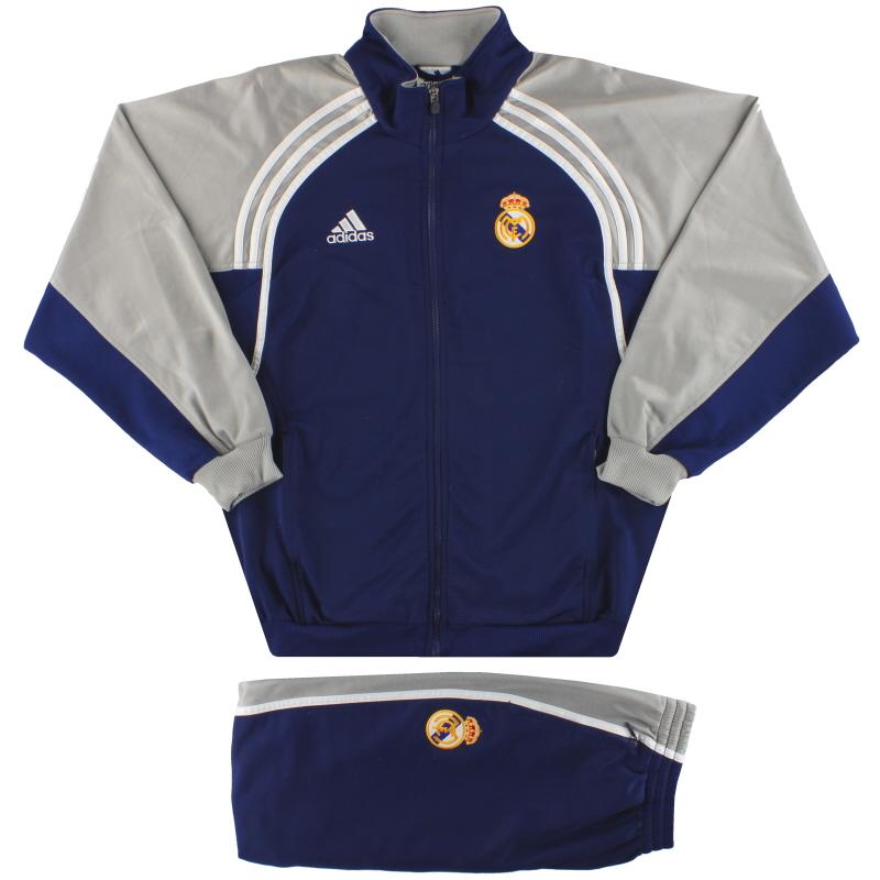 2000-01 Real Madrid adidas Tracksuit L - 683572