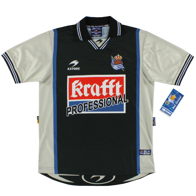 2000-01 Real Sociedad Away Shirt *BNWT* S