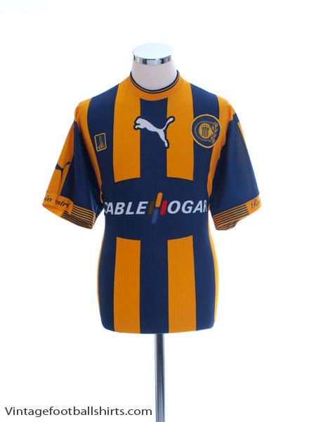 2000-01 Rosario Central Home Shirt #10 XL