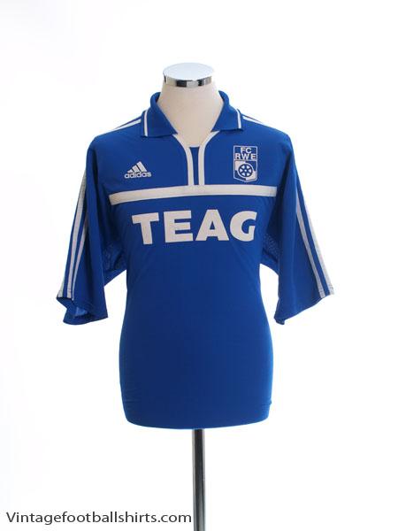 2000-01 Rot Weiss Erfurt Match Issue Away Shirt #21 XL - 647434