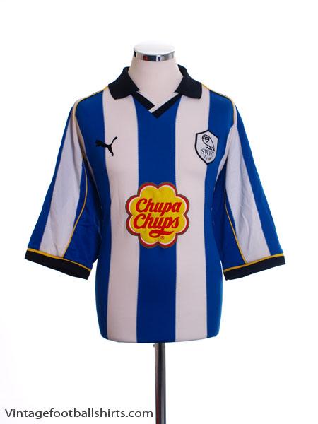 2000-01 Sheffield Wednesday Home Shirt M