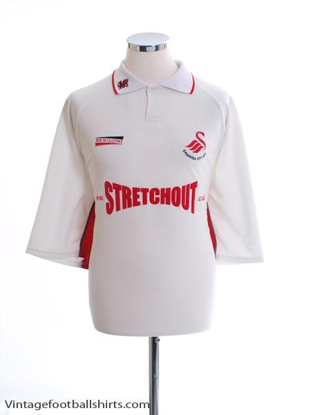 2000-01 Swansea City Home Shirt XXL