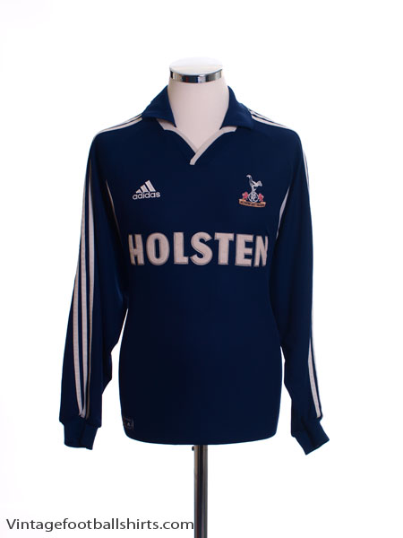 2000-01 Tottenham Away Shirt L/S M