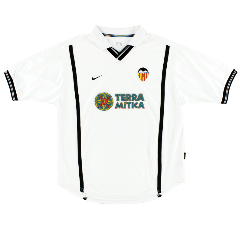 2000-01 Valencia Home Shirt XL