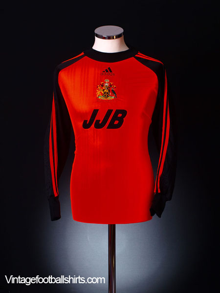 2000-01 Wigan Goalkeeper Shirt M