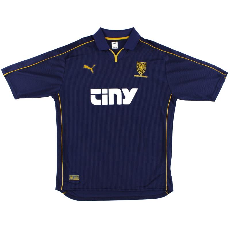 2000-01 Wimbledon Puma Home Shirt *Mint* S