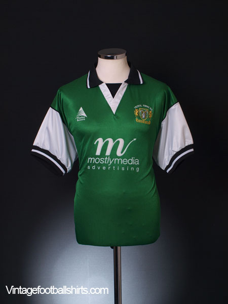 2000-01 Yeovil Town Home Shirt *Mint* L