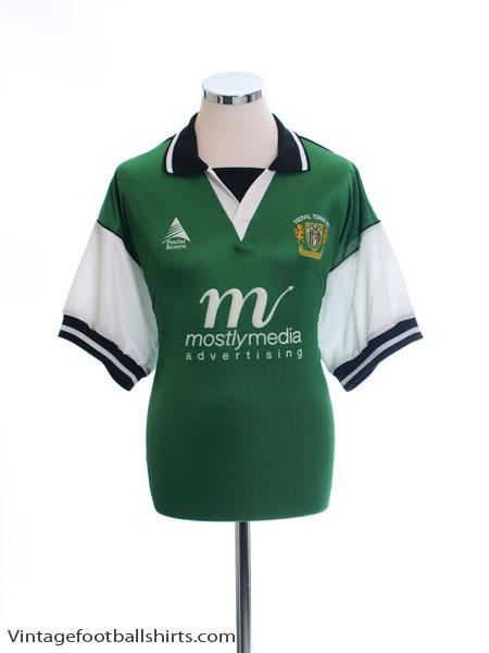 2000-01 Yeovil Town Home Shirt XL