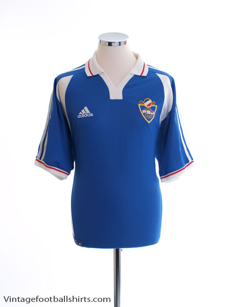 2000-01 Yugoslavia Home Shirt L