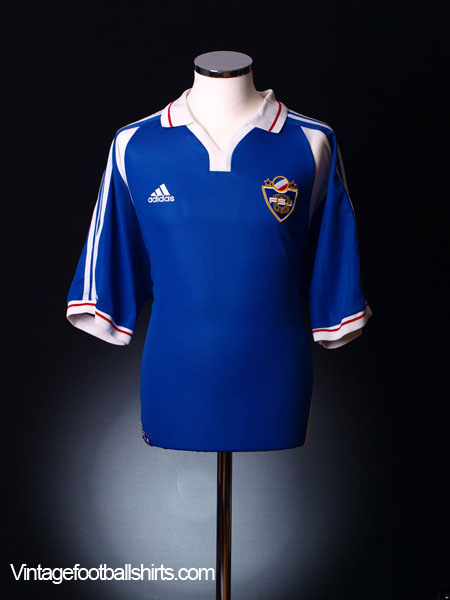 2000-01 Yugoslavia Home Shirt M