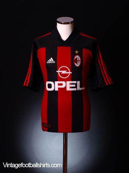 2000-02 AC Milan Home Shirt XL