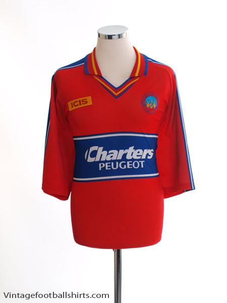 2000-02 Aldershot Town ICIS Home Shirt L