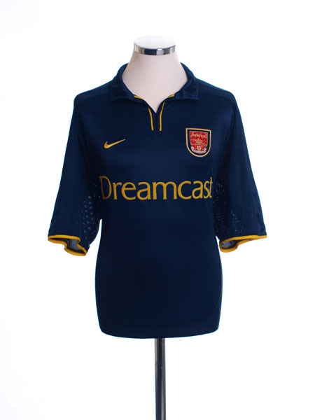 2000-02 Arsenal European Shirt L