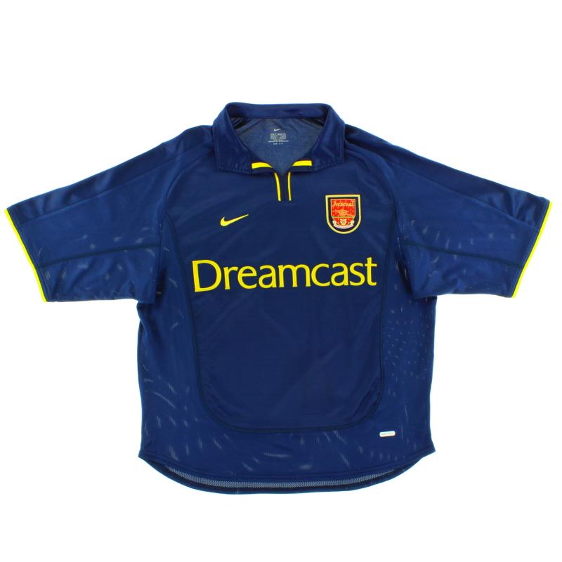 2000-02 Arsenal European Shirt M