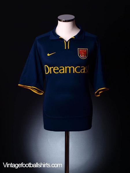 2000-02 Arsenal European Shirt XL