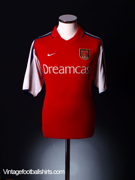 2000-02 Arsenal Home Shirt XXL
