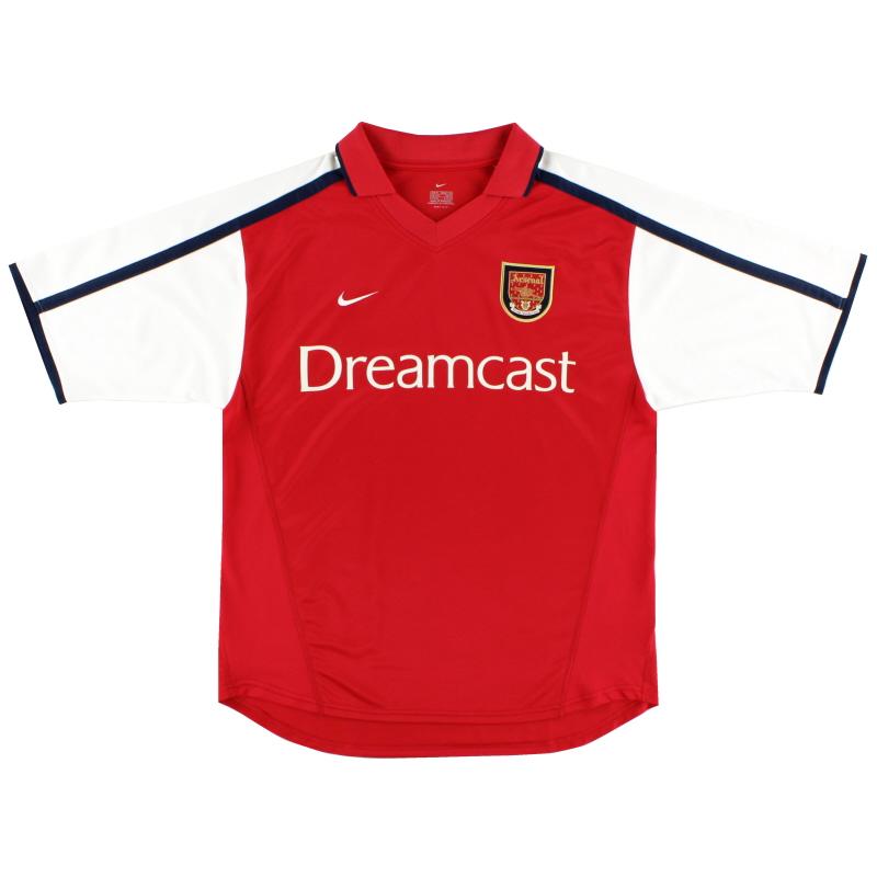 2000-02 Arsenal Nike Home Shirt XL.Boys