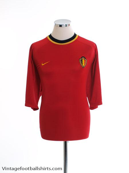 2000-02 Belgium Home Shirt XL