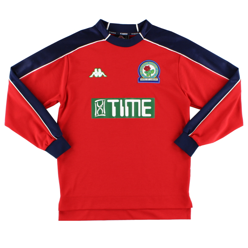 2000-02 Blackburn Kappa Goalkeeper Shirt S