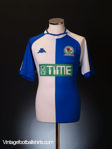 2000-02 Blackburn Home Shirt L