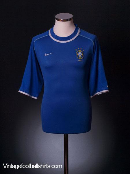 2000-02 Brazil Away Shirt XL