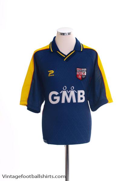 2000-02 Brentford Away Shirt L