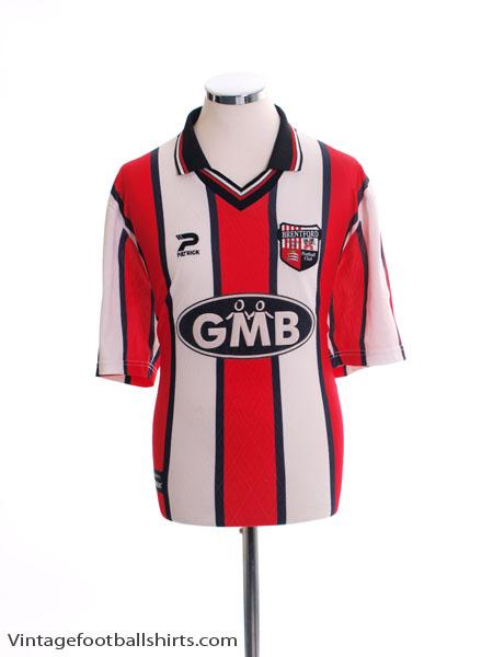 2000-02 Brentford Home Shirt L