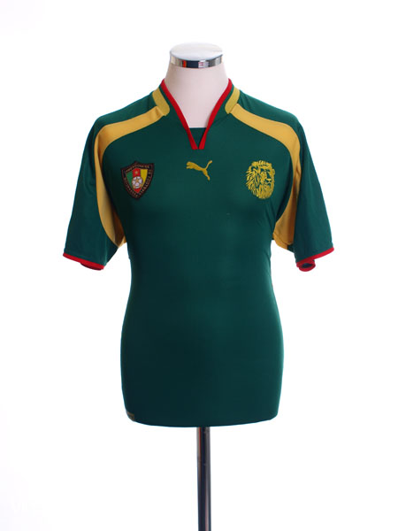 2000-02 Cameroon Home Shirt L