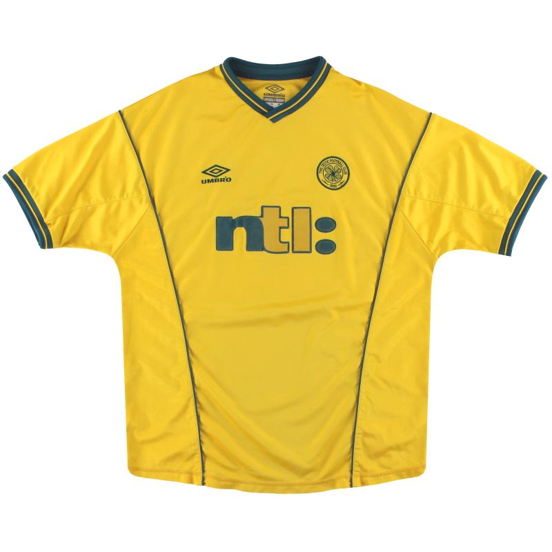 2000-02 Celtic Umbro Away Shirt XL