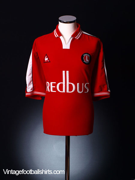 2000-02 Charlton Home Shirt M
