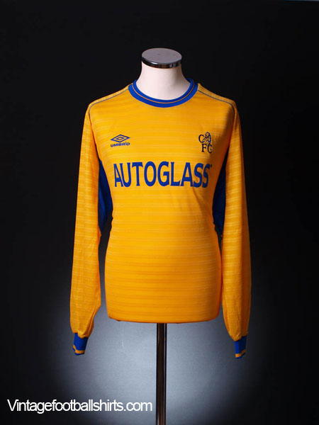 2000-02 Chelsea Away Shirt L/S XL