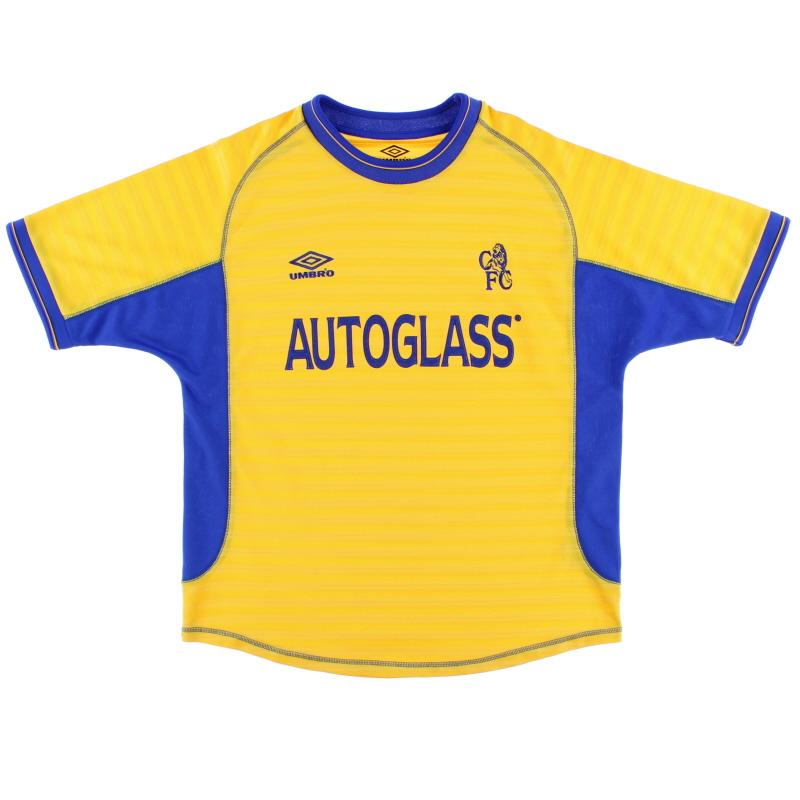 2000-02 Chelsea Umbro Away Shirt L