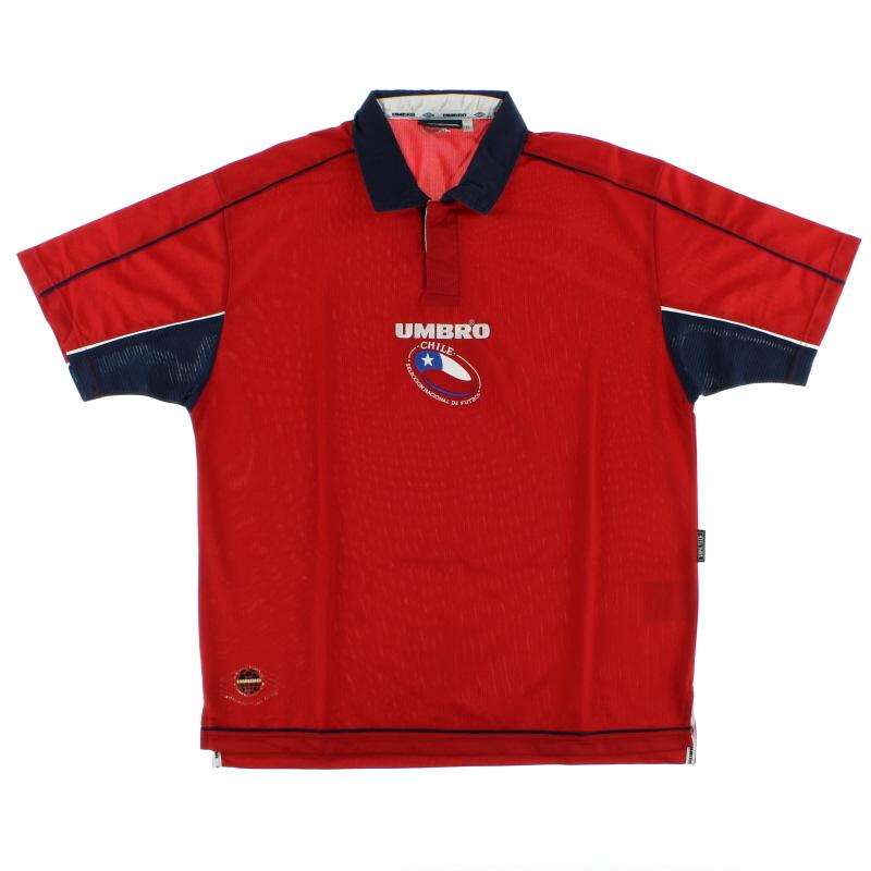 2000-02 Chile Home Shirt L