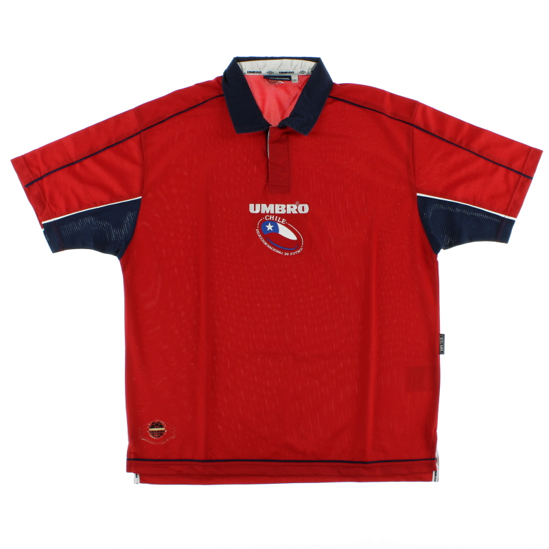 2000-02 Chile Home Shirt XL