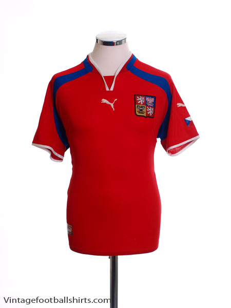 2000-02 Czech Republic Home Shirt S