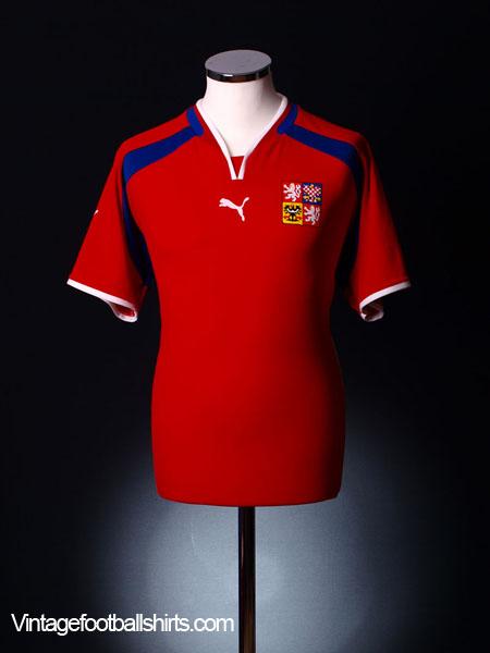 2000-02 Czech Republic Home Shirt *BNWT* M