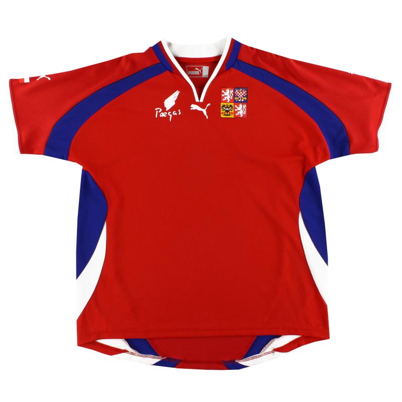 2000-02 Czech Republic Puma Home Shirt XL