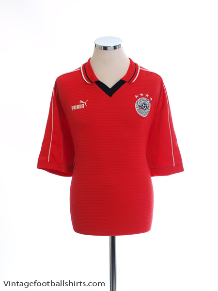 2000-02 Egypt Home Shirt *Mint* XXL