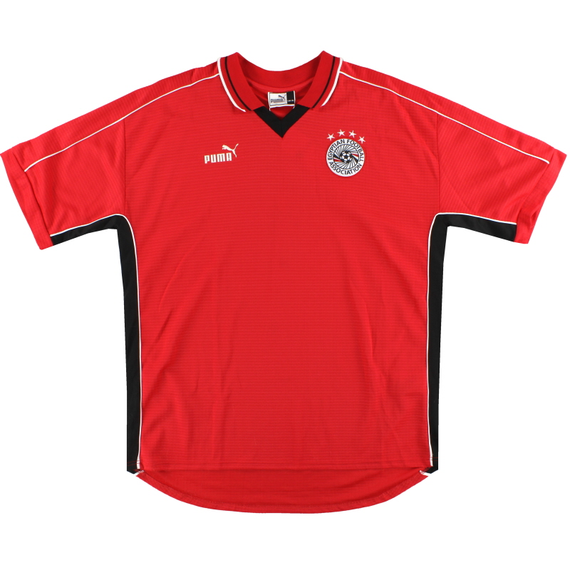 2000-02 Egypt Puma Home Shirt *Mint* XXL
